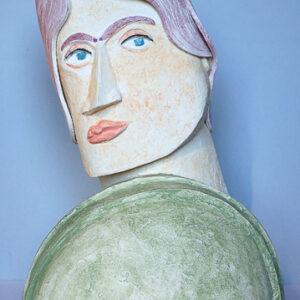 Botticelli 2016 Stengods, 34x23x15 cm.